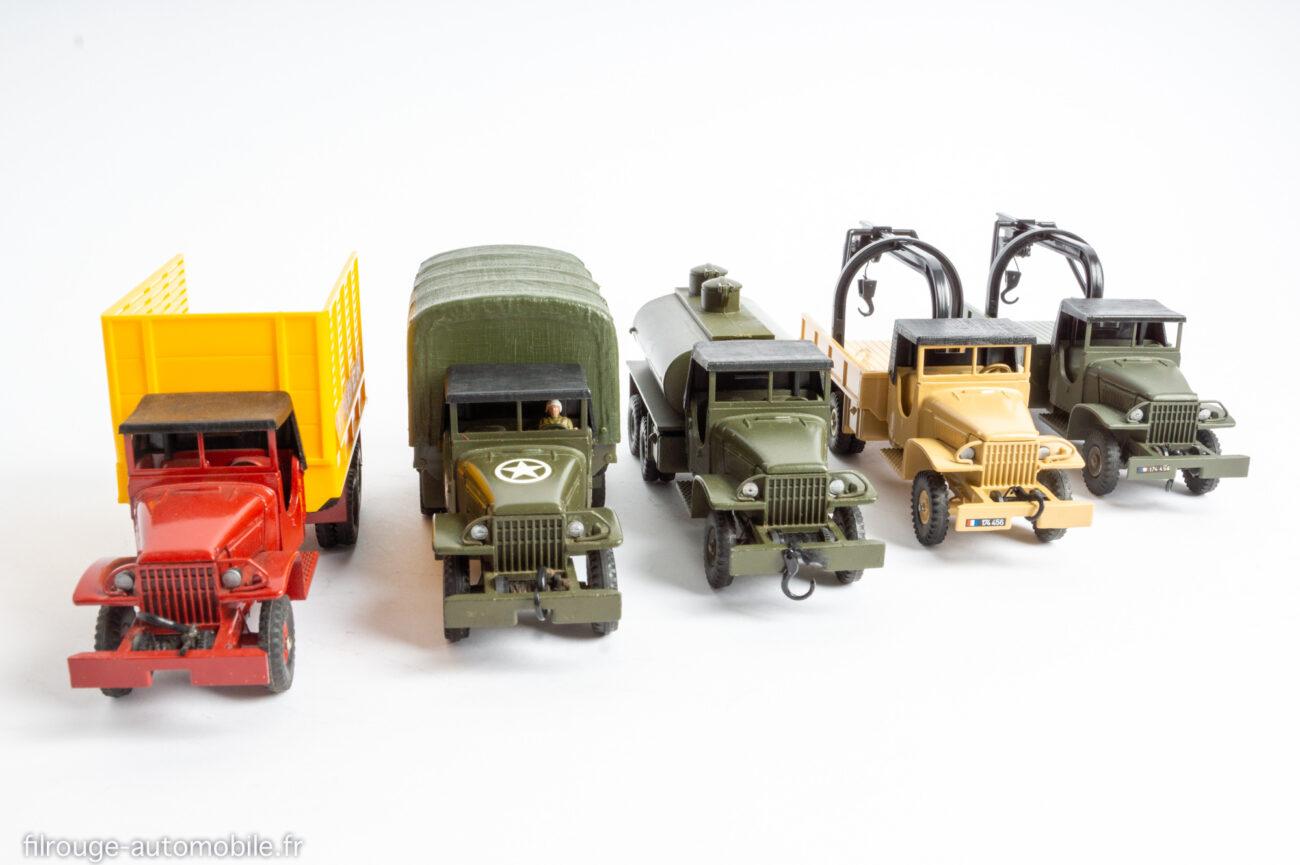 Les GMC CCKW par Dinky Toys