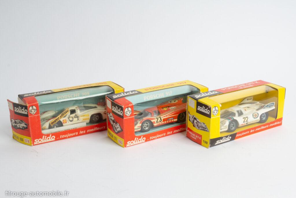 Solido, Porsche du Mans 69, 70, 71