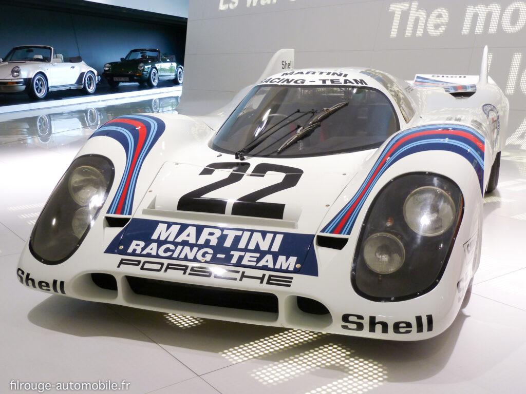 Porsche 917 K n°22 vainqueur des 24 Heures du Mans 1971 - Photo Gérard Lecué
