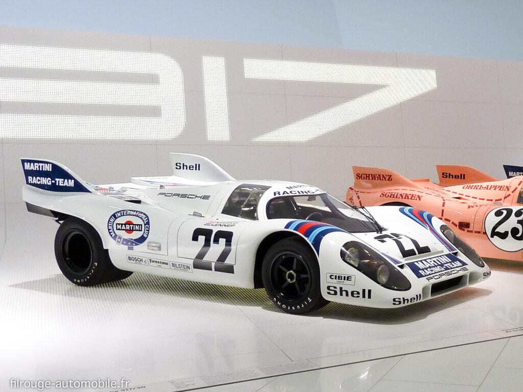 Porsche 917 K vainqueur des 24 Heures du Mans 1971 - Photo Gérard Lecué